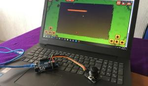 Joystick Game Controller using Arduino Leonardo