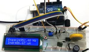 LC Meter Using Arduino: Measuring Inductance and Frequency