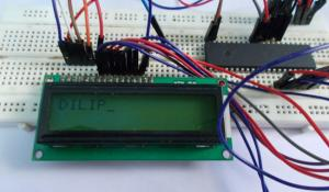 LCD Interfacing with ATmega32 AVR microcontroller