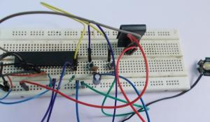AVR ATmega32 LED Dimmer with PWM