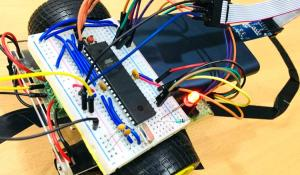Line Follower Robot Using AVR Microcontroller ATmega16