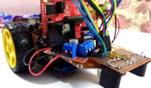 Line Follower Robot Using MSP430 LaunchPad