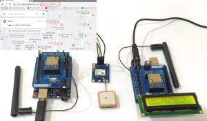 Lora Based GPS Tracker using Arduino and LoRa Shield