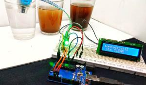 Measuring Turbidity of Water using Arduino and Turbidity Sensor