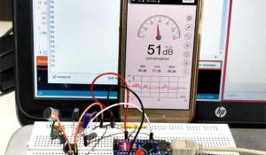 Measure Sound/Noise Level in dB with Microphone and Arduino