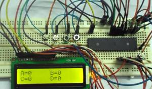 AVR Microcontroller Based Electronic Voting Machine