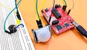 Motion Detector Using MSP430 Launchpad and PIR Sensor