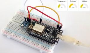 NodeMCU ESP8266 Data Logger on Thinger.io Cloud Platform