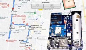 IoT Based GPS Location Tracker using NodeMCU