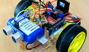 Obstacle Avoiding Robot Project using Arduino and Ultrasonic Sensor