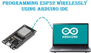 Programming ESP32 Over-the-air (OTA) using Arduino IDE