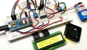 Pulse width Modulation (PWM) in STM32F103C8: Controlling Speed of DC Fan