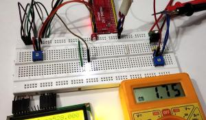 Pulse width Modulation (PWM) using ARM7-LPC2148: Controlling Brightness of LED