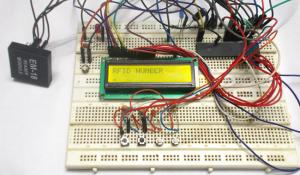 RFID Based Voting Machine using AVR Microcontroller
