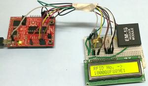 RFID Interfacing with MSP430 Launchpad