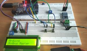 RS-485 MODBUS Serial Communication with Arduino as Master