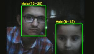 Raspberry Pi Age and Face Detection using OpenCV