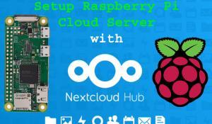 Setup Raspberry Pi Cloud Server with NextCloud