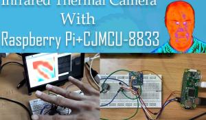 Raspberry Pi Infrared Thermal Camera