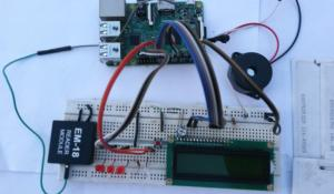 RFID and Raspberry Pi Based Attendance System