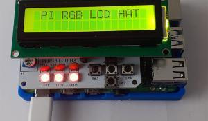 Raspberry Pi RGB LCD HAT