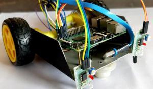 Line Follower Robot using Raspberry Pi