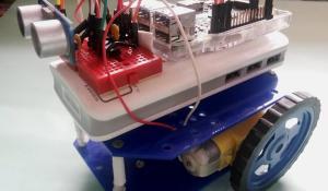 Raspberry Pi Obstacle Avoiding Robot using Ultrasonic Sensor