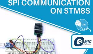SPI Communication on STM8S Using Cosmic C Compiler