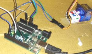 Smart Knock Detecting Door Lock Project using Arduino Uno