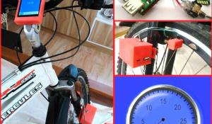 DIY Speedometer using Arduino and Processing Android App