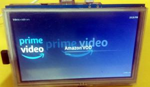 Amazon Prime Video on Raspberry Pi