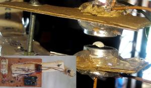 Ultrasonic Acoustic Levitation Using Arduino