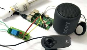 Voice controlled Home automation using Amazon Alexa on Raspberry Pi