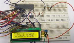 Digital Voltmeter using AVR Microcontroller