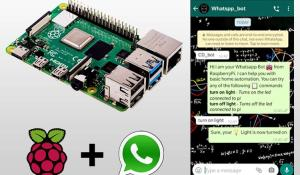 WhatsApp Automation using Python on Raspberry Pi