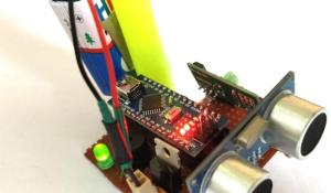 Smart Blind Stick Project using Arduino and Sensors