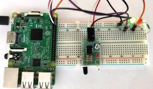 Add Infrared Sensor to Raspberry Pi GPIO