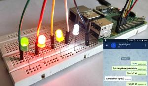 Controlling Raspberry Pi GPIO Pins using Telegram App