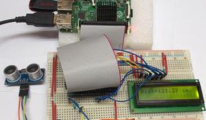 Measure Distance using Raspberry Pi and HCSR04 Ultrasonic Sensor