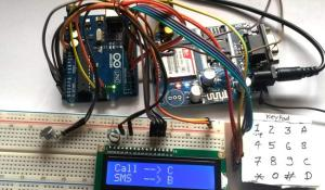 Make/answer call and Read/send SMS using Arduino