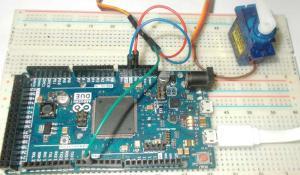 Servo Motor Control with Arduino Due