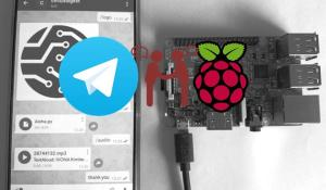 Using Telegram Bot with Raspberry Pi: Sharing Text and Files