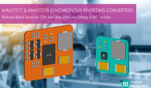 New 60V Inverting Step-down DC-DC Converters