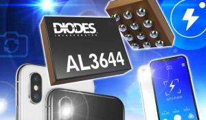 AL3644 Flash LED Drivers Deliver High-Current Stability in Portable Devices for Dual- and Quad-Channel Applications