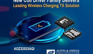 Alpha and Omega Semiconductor's AOZ32033AQI Gate Driver
