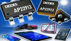 AP22913- Slew Rate Controlled 2A P-Channel MOSFET for high-side Load Switching