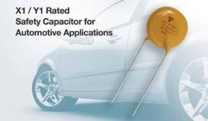 New Ceramic Disc Capacitors for Class X1(760 VAC) /Y1(500 VAC) Applications