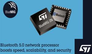 BlueNRG-2N Bluetooth 5.0-Certified Network Processor