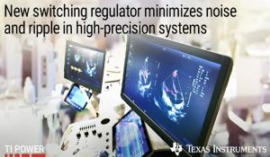 Texas' TPS62912 and TPS62913 DC/DC Switching Regulators