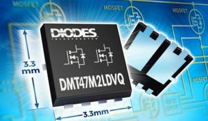 DMT47M2LDVQ Dual MOSFET